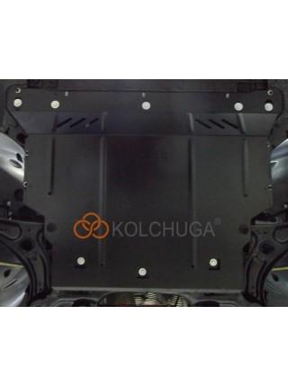 Защита двигателя, КПП, радиатора для авто Seat Ibiza V 2017- V-1,0TSI только для СНГ ( TM Kolchuga ) ZiPoFlex