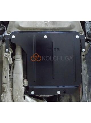 Защита КПП для авто BMW 5-й сериї E60 E61 2003-2010 V-3,0D АКПП МКПП задний привод ( TM Kolchuga ) ZiPoFlex