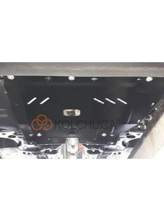 Защита двигателя, КПП, радиатора для авто Opel Combo D 2012- V- все ( TM Kolchuga ) ZiPoFlex