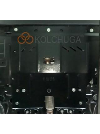 Защита двигателя, КПП, радиатора для авто Fiat Doblo II поколение 2010- V-все ( TM Kolchuga ) Стандарт