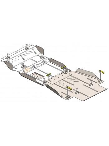 Защита двигателя, КПП, РКПП, передний мост для авто Great Wall Haval H9 2017- V-2,0 TDI (AКПП, 4x4) ( TM Kolchuga ) Стандарт