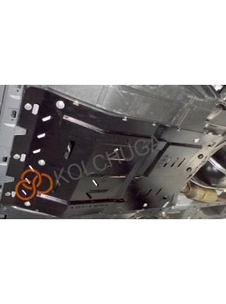 Защита двигателя, КПП, радиатора для авто Citroen Jumper IIи 2014- V-2.3 D ( TM Kolchuga ) ZiPoFlex