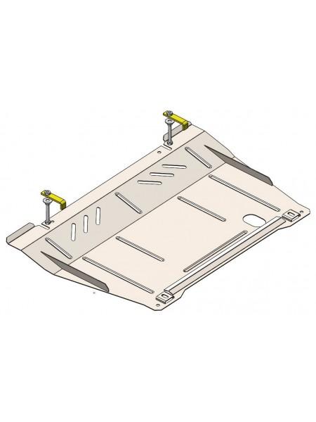 Защита двигателя, КПП, радиатора для авто Opel Corsa D 2007-2014 V-1.3CDTi МКПП ( TM Kolchuga ) Стандарт