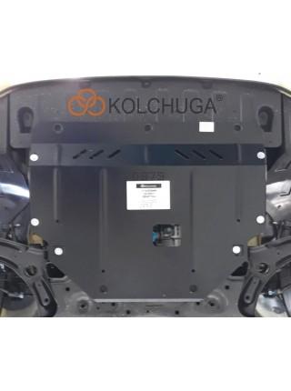 Защита двигателя, КПП, радиатора для авто Kia Picanto 2017- V-1,0 1,2 МКПП АКПП ( TM Kolchuga ) ZiPoFlex