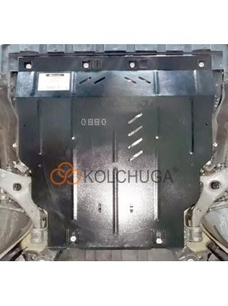 Защита двигателя, КПП, радиатора, заднего моста для авто Lincoln MKC 2014-2018 V-2.0 2,3 АКПП USA ( TM Kolchuga ) ZiPoFlex