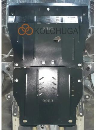 Защита двигателя, КПП для авто Subaru Legacy V 2014- V-2,5i (без турбины) вариатор/USA ( TM Kolchuga ) ZiPoFlex