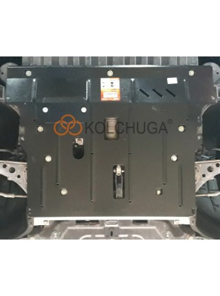 Защита двигателя, КПП для авто Chevrolet Cruze II J400 2016- V- 1,4и АКПП USA ( TM Kolchuga ) ZiPoFlex