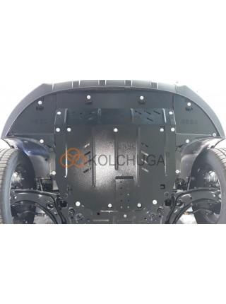 Защита двигателя, КПП, радиатора для авто Kia Sportage IV QL 2018- V-1.6GDI ( TM Kolchuga ) ZiPoFlex