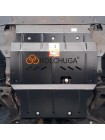 Защита двигателя и КПП для авто Great Wall Haval H2 2014- V-1,5i (МКПП) ( TM Kolchuga ) ZiPoFlex