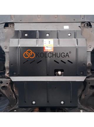 Защита двигателя и КПП для авто Great Wall Haval H2 2014- V-1,5и МКПП ( TM Kolchuga ) ZiPoFlex