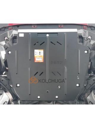 Защита двигателя, КПП, абсорбер для авто Great Wall Haval H6 2017- V-1,5і; 2,0і; ( TM Kolchuga ) ZiPoFlex