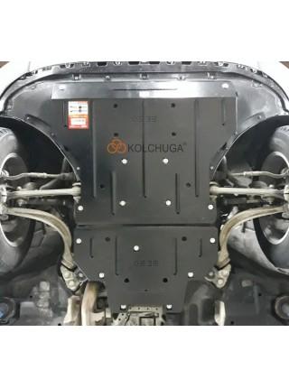 Защита двигателя, стартер для авто Audi Q7 2015- V-3,0TDI АКПП 4x4 ( TM Kolchuga ) Стандарт