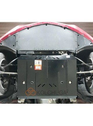 Защита двигателя и стартер для авто Cadillac ATS 2012- V-2,0i turbo (АКПП) ( TM Kolchuga ) ZiPoFlex