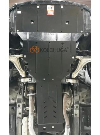 Защита двигателя, КПП, радиатора для авто Lexus IS 250 (XE3) 2013- V-2,5i (АКПП, только 4x4) ( TM Kolchuga ) ZiPoFlex