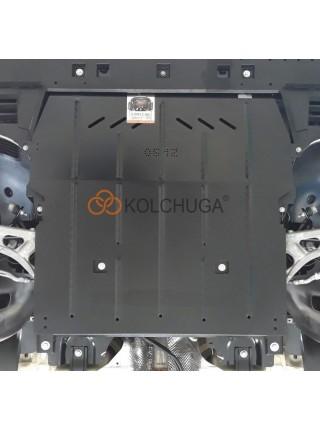 Защита двигателя, КПП для авто Opel Grandland X 2017- V-2.0CDTI ( TM Kolchuga ) ZiPoFlex