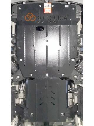 Защита двигателя, КПП, радиатора для авто Hyundai H1 2018- V-2,5CRDi МКПП ( TM Kolchuga ) ZiPoFlex