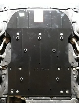 Защита двигателя, радиатора для авто BMW 1 F20 F21 (118i) 2015-2017 V- АКПП ( TM Kolchuga ) ZiPoFlex
