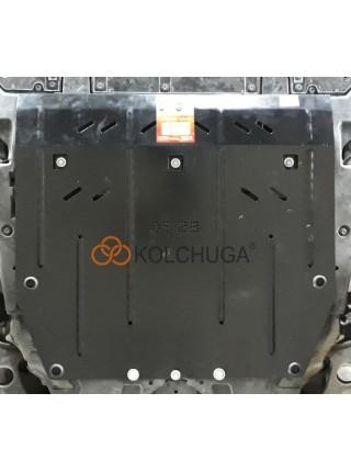 Защита двигателя, КПП для авто Honda CR-V V  2016- V-только 1,5i turbo (сборка USA, EU) ( TM Kolchuga ) ZiPoFlex