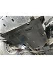 Защита двигателя, КПП для авто Ford Edge 2014- V- 2,7i; 3,5; (USA) ( TM Kolchuga ) ZiPoFlex