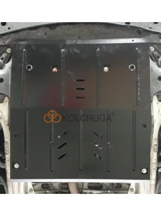 Защита двигателя, КПП, радиатора для авто Honda Accord IX 2014-2018 V-2,0і HYBRID ( TM Kolchuga ) ZiPoFlex
