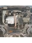 Защита двигателя, КПП, радиатора для авто Volkswagen New Beetle 1997-2010 V-все (универсальная) ( TM Kolchuga ) ZiPoFlex