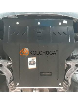 Защита двигателя, КПП, радиатора для авто Skoda Octavia I A4 1997-2010 V-все (универсальная) ( TM Kolchuga ) Стандарт