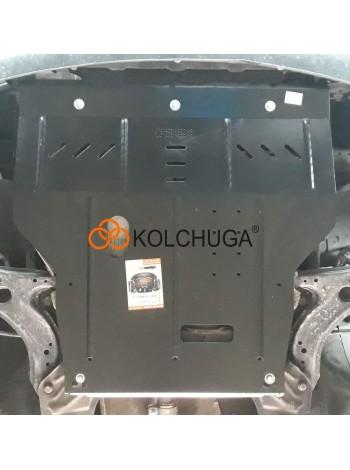 Защита двигателя, КПП, радиатора для авто Audi A3 1996-2003 V-все (универсальная) ( TM Kolchuga ) ZiPoFlex