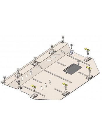 Защита двигателя, КПП, радиатора для авто Mazda CX-30 2019- V-2,5 (АКПП) ( TM Kolchuga ) Стандарт