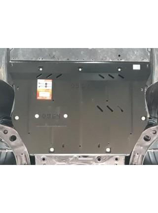Защита двигателя, КПП, радиатора для авто Mazda 3 BP 2019- V-2,5 (АКПП) ( TM Kolchuga ) Стандарт