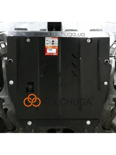 Защита двигателя и КПП для авто Honda CR-V III 2007-2013 V-2,4 Cтандарт ( TM Kolchuga )