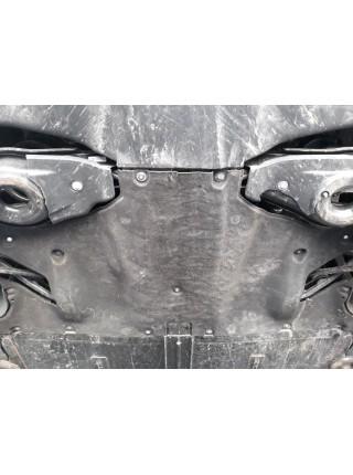 Защита двигателя для авто Tesla Model 3 2017- V-все ( TM Kolchuga ) ZiPoFlex