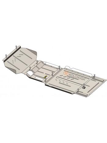 Защита двигателя, КПП, редуктора, раздатки для авто Ford Ranger 2019- V-2.0 EcoBlue TDCi ( TM Kolchuga ) Стандарт