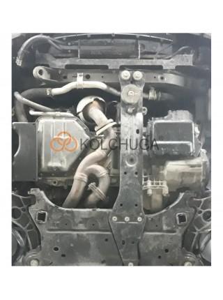 Защита двигателя, КПП, радиатора для авто Dodge Journey 2011- V-3,6 ( TM Kolchuga ) ZiPoFlex