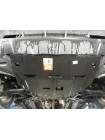 Защита двигателя, КПП для авто Kia Sportage IV QL 2016- V-2,4i (USA; АКПП; только с бампером, как в инструкции) ( TM Kolchuga ) ZiPoFlex