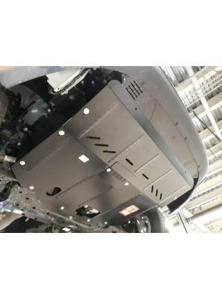 Защита двигателя, КПП, радиатора для авто Ford Tourneo Custom V362 MCA 2019- 2.0TDCi ecoblue euro 6,2, 20.05.19 г. (АКПП, передний привод) ( TM Kolchuga ) ZiPoFlex