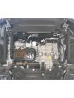 Защита двигателя, КПП, радиатора для авто Ford Transit V363 MCA 2019- 2.0TDCi ecoblue euro 6,2, 20.05.19 г. (V363 MCA, АКПП, передний привод) ( TM Kolchuga ) ZiPoFlex