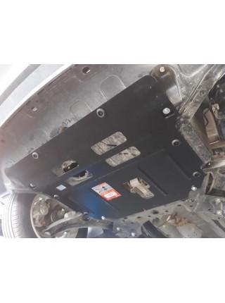 Защита двигателя, КПП, радиатора для авто Hyundai Creta/IX25/Cantus 2014- V-1.6MPi (устанавливается поверх штатной защиты)  ( TM Kolchuga ) ZiPoFlex