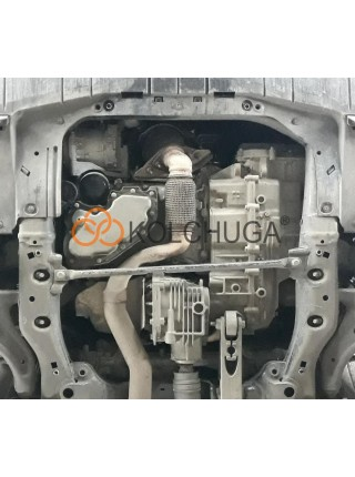 Защита двигателя, КПП Chevrolet Equinox 2017- V-1,5i (АКПП, 4x4) ( TM Kolchuga ) ZiPoFlex