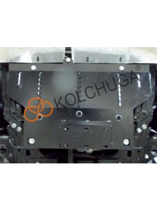 Защита двигателя, КПП для авто Fiat 500 2010-2019 V-1,4і (АКПП, USA) ( TM Kolchuga ) ZiPoFlex