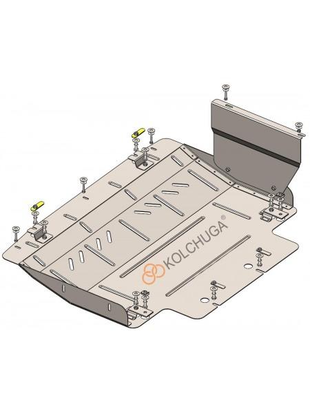 Защита двигателя, КПП для авто Chery Tiggo 4 ( 2020- ) V-1.5i VVT ( МКПП ) ( TM Kolchuga ) ZiPoFlex