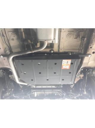 Защита топливного бака для авто Chery Tiggo 8 2018- V-все ( TM Kolchuga ) ZiPoFlex