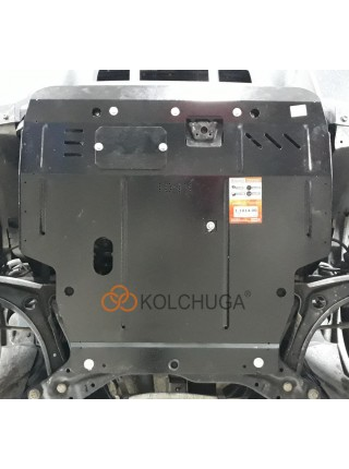 Защита двигателя, КПП, радиатора для авто Jeep Patriot 2011-2017 V-2,4і (АКПП, 4х4) ( TM Kolchuga ) ZiPoFlex