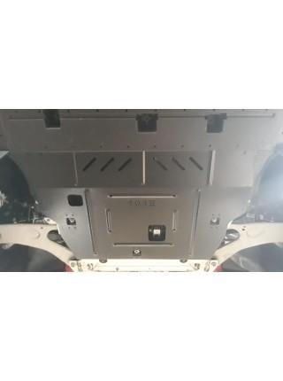 Защита двигателя, КПП для авто Peugeot 2008 2020- V-1.5BlueHDi; 1.2PureTech; (АКПП) ( TM Kolchuga ) ZiPoFlex
