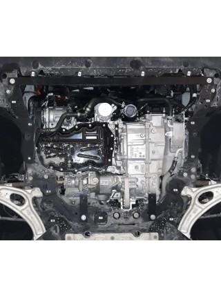 Защита двигателя для авто Ford Kuga 2020- V-1.5i; 1.5D; 2.0D; ( TM Kolchuga ) ZiPoFlex
