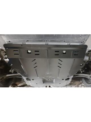 Защита двигателя, КПП для авто Honda Civic X седан, купе ( 2015- ) V-1,5іT; 2,0і ( сборка USA ) ( TM Kolchuga ) ZiPoFlex