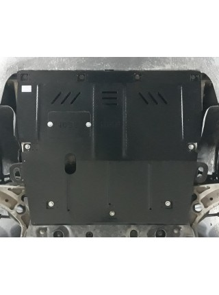 Защита двигателя, КПП для авто Jeep Cherokee KL ( 2019- ) V-2.0i ( 4x4/АКПП ) ( TM Kolchuga ) ZiPoFlex