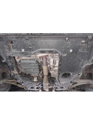 Защита двигателя и КПП для авто Nissan Altima 5 2016-2018 V-2.5i (вариатор/USA) ( TM Kolchuga ) Стандарт