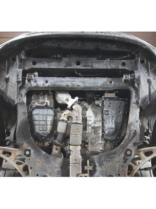 Защита двигателя, КПП для авто Nissan Murano III Z52 2014- V-3,5 ( АКПП ) ( TM Kolchuga ) ZiPoFlex