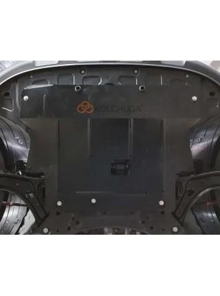Защита двигателя, КПП для авто Hyundai Venue 2019- V-1,6і ( TM Kolchuga ) ZiPoFlex