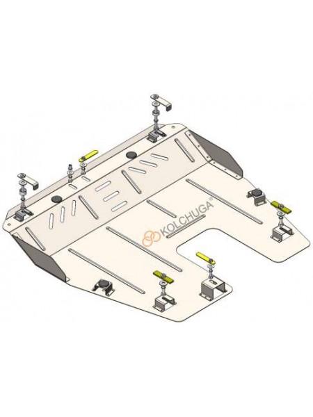 Защита вигателя, КПП для авто Lincoln MKT 2009-2019 V-3.5i (АКПП/USA) ( TM Kolchuga ) ZiPoFlex
